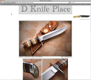 Del Anderson's DKnifePlace.com