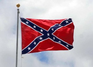 No, I don't fly a Rebel Flag