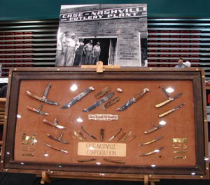 Case-Nashville Cutlery Co. Display