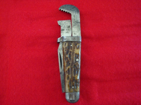 Cattaraugus Combo Knife and Wrench pre-1918