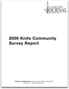 2009knifecommunitysurveyreportcover