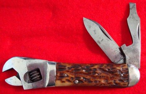 Cattaraugus 3-W Wrench Knife