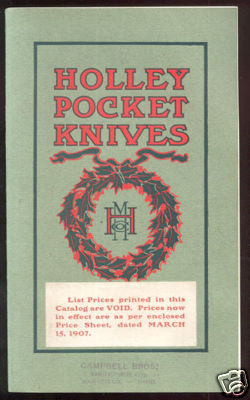1904 Orginal Holley Mfg. Co. Catalog
